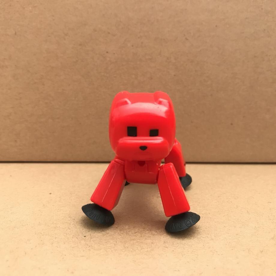 Rare Stikbot Red Monkey stik pet stik pet ANIMATION Single Action Figure toy