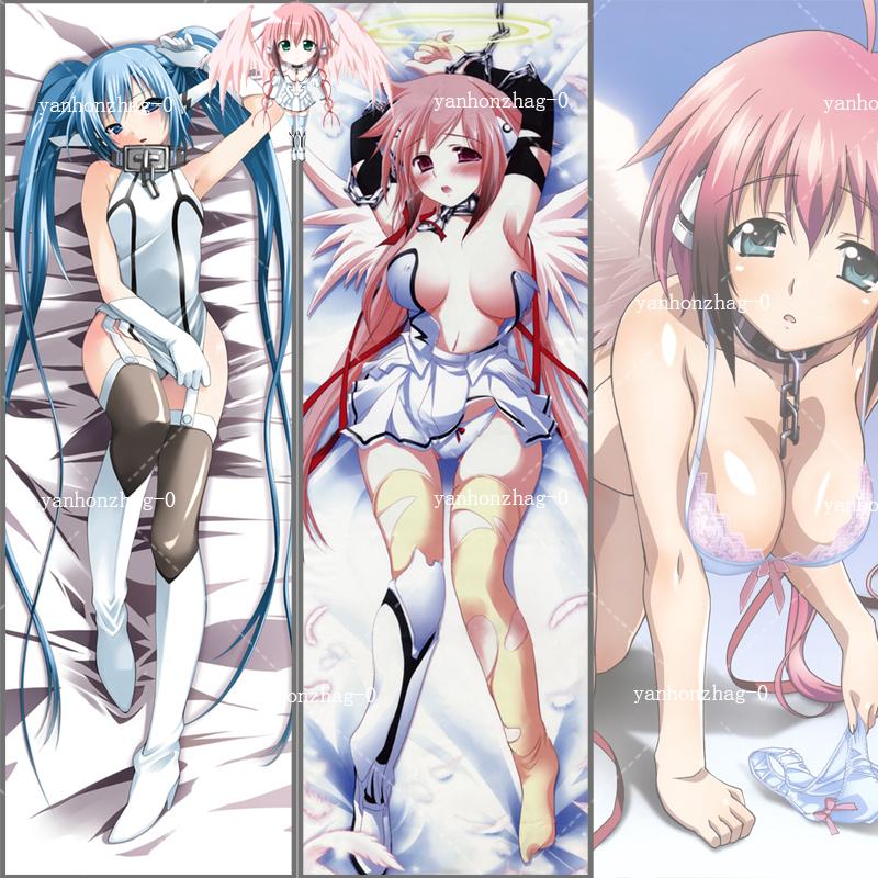 Anime Sora No Otoshimono Nymph Hugging Body Pillow Case Cover Cosplay 35*55cm#01