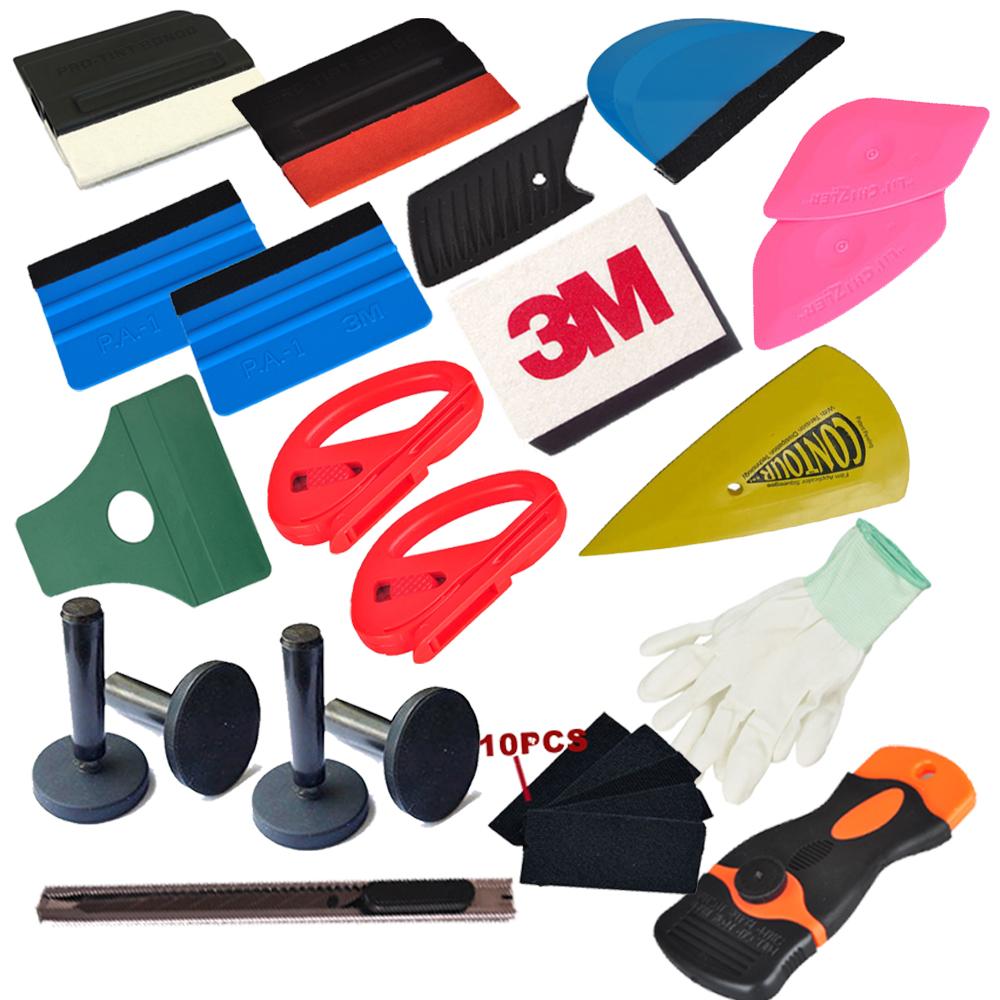 21x Economy Combo Pro Tool Kit Car Vinyl Wrap Squeegee