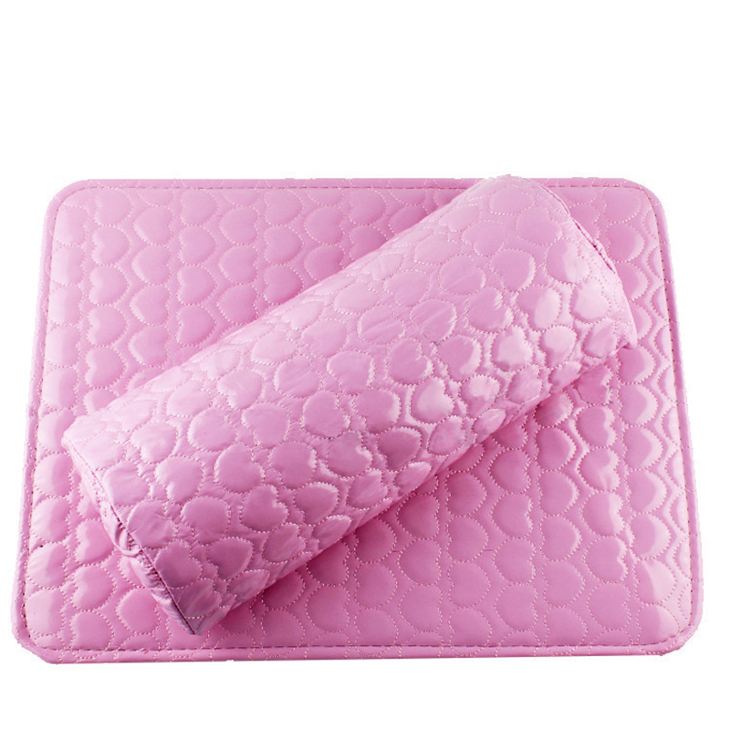 Hand Arm Soft Column Cushion Pillow Pad Rest Nail Art Manicure Salon