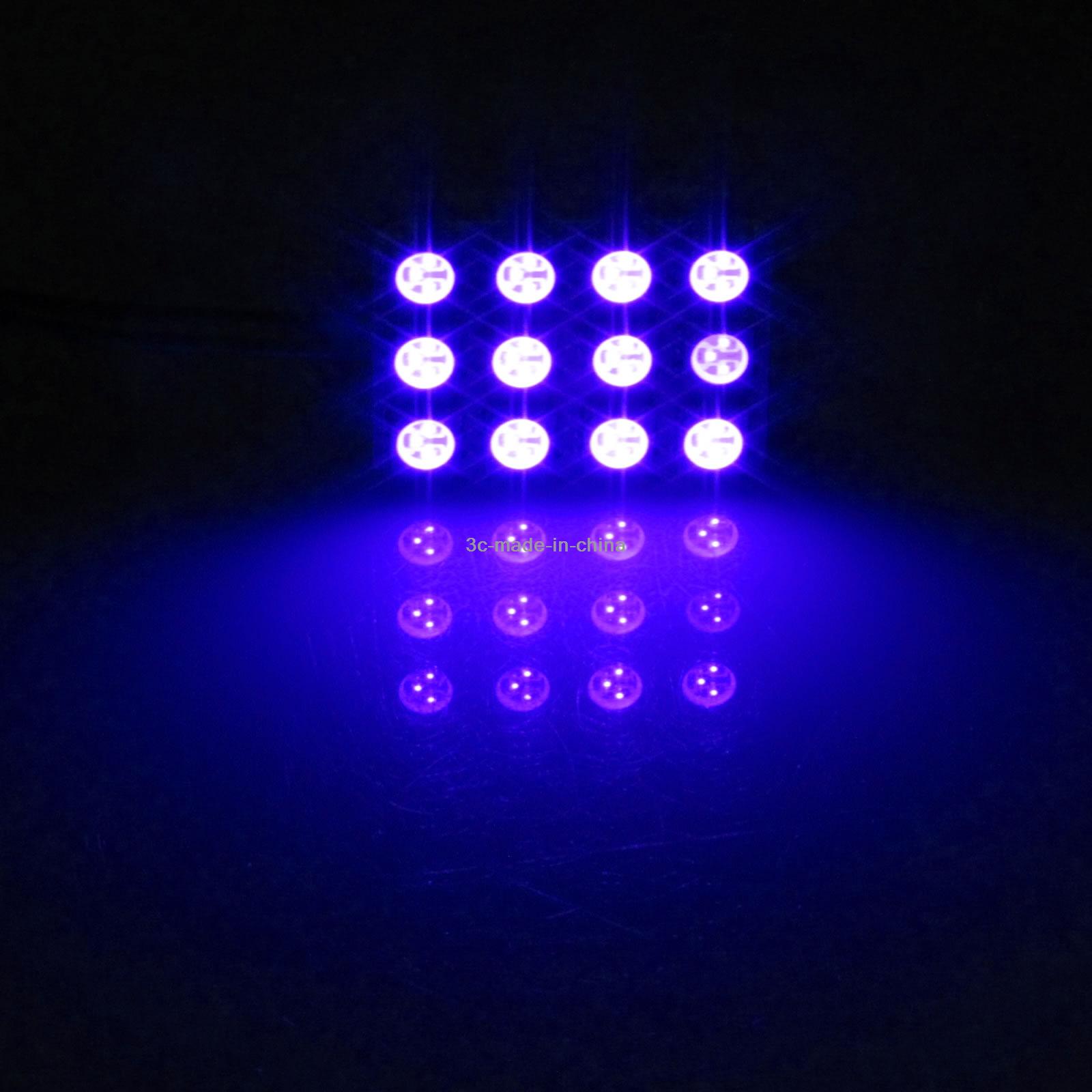 20x Red AUTO Panel Footwell Lamp Map Light 12 5050 SMD LED T10 festoon J003