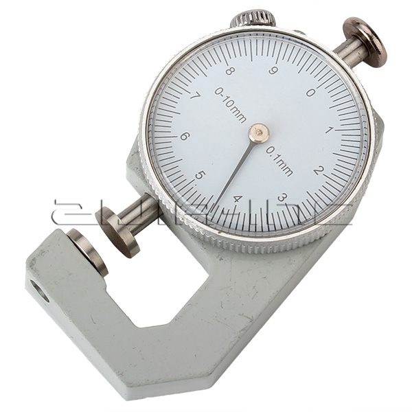 0 to 10mm Measurement Dial Thickness Gauge Gage Tool for Sheet Metal Papter Pipe