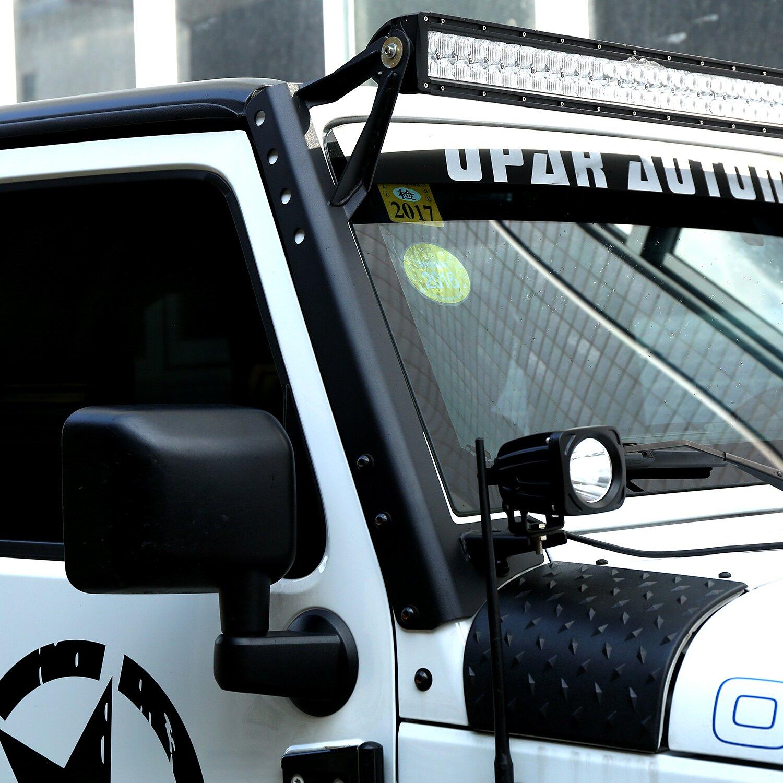 54 inch led light bar windshield mount brackets for jeep wrangler 52 inch led light bar windshield mount brackets for jeep wrangler jk 2007 2017 aloadofball Gallery