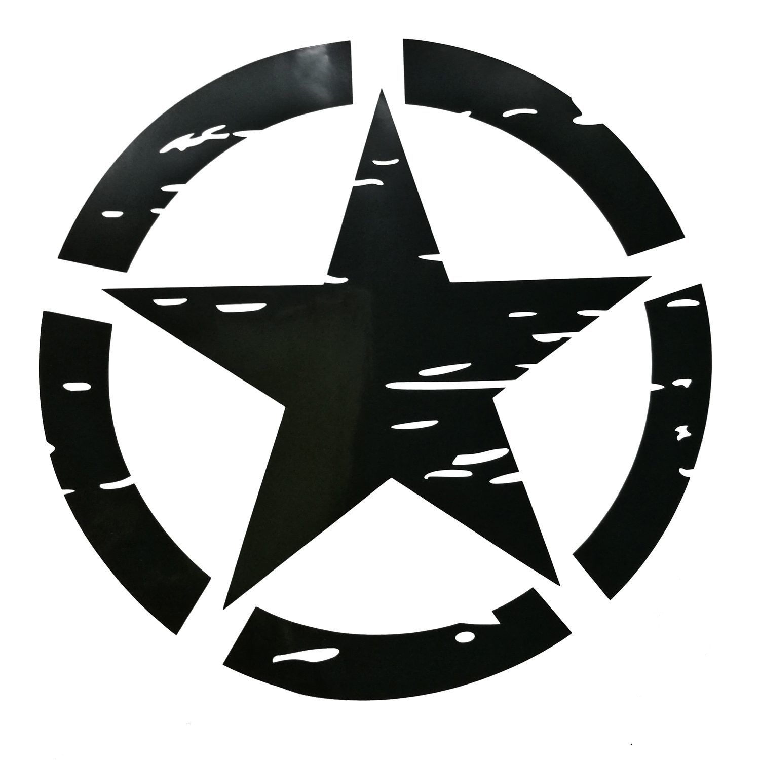 50x50cm black us army military star car truck sticker decal for 50x50cm black us army military star car truck sticker decal for jeep wrangler jk buycottarizona