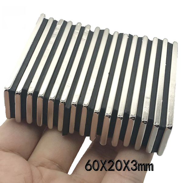 50x N52 Big Block Bar Fridge 40 x10 x 4mm Magnets Strong Rare Earth Neodymium US