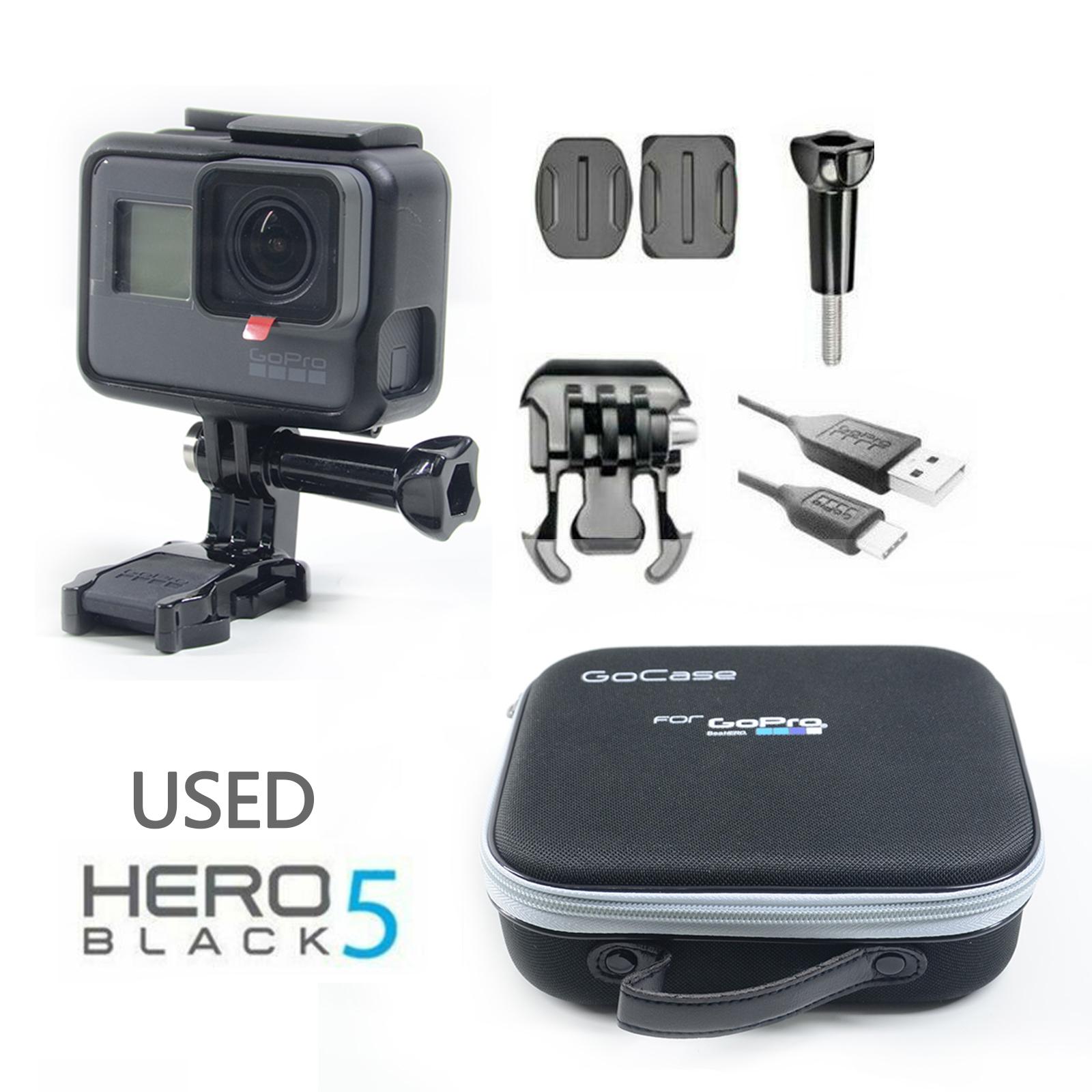 accessories Used GoPro Hero 5 Black Edition 4K Action Camera Camera bag