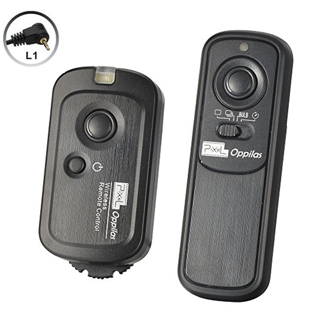 Details about Pixel RW-221/L1 Wireless Shutter Remote with RS1 Type  Terminal for Panasonic DSL