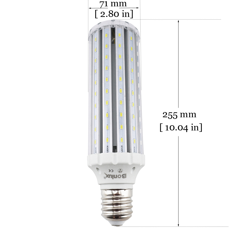 Bonlux Led Corn Bulb Mogul Screw Base E39 E40 High Bay Retrofit 45w Wiring A Lamp