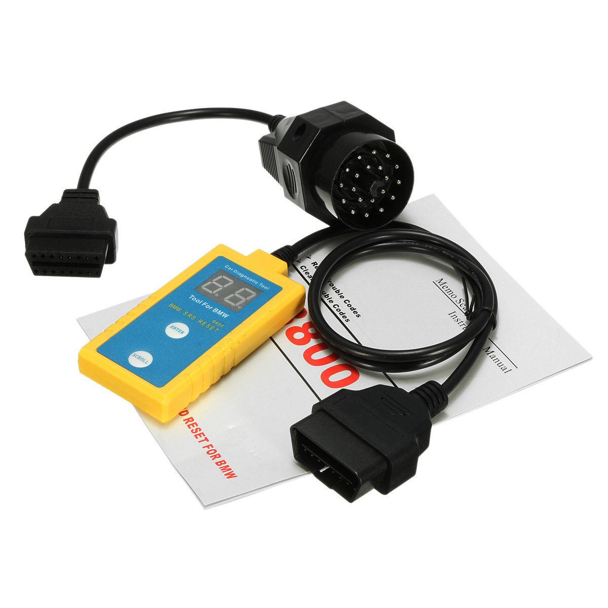 Details about Car Airbag Diagnostic Scanner Reset SRS Codes Reader 20Pin  Set For BMW E36 E46