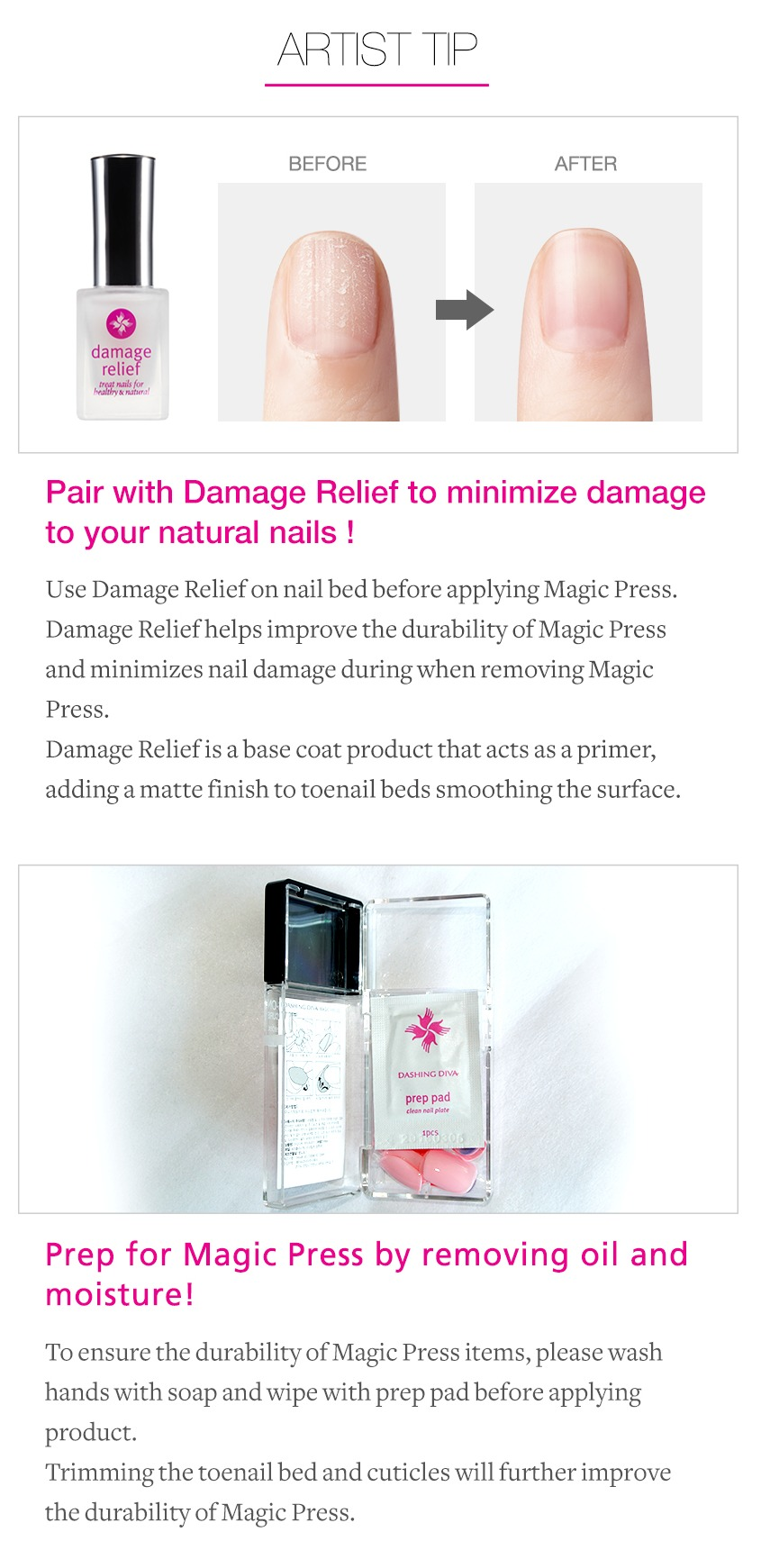 DASHING DIVA] Magic Press / Disposable Nail Tip | eBay