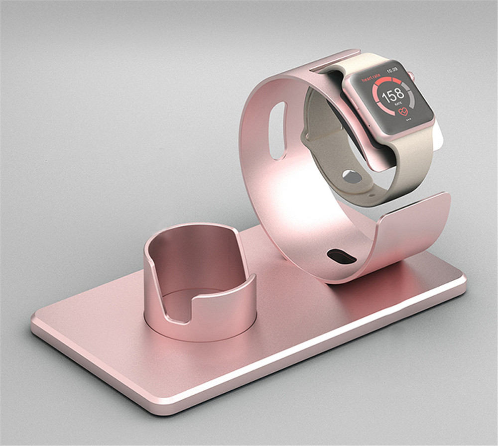 metall laden dock halterung dockingstation f r apple watch. Black Bedroom Furniture Sets. Home Design Ideas