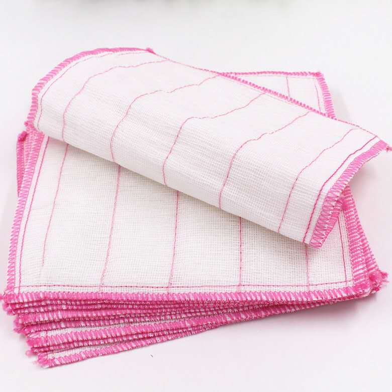Details about 10pcs Cleaning Dish Cloths Rags Absorbent Dishcloth Kitchen  Dish Towels Rags