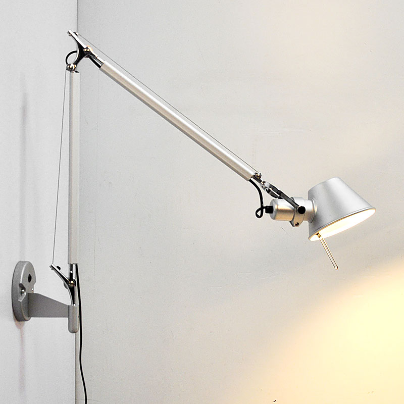 Details About Adjule Modern Long Swing Arm Wall Lamp Plug In Sconce Reading Lighting