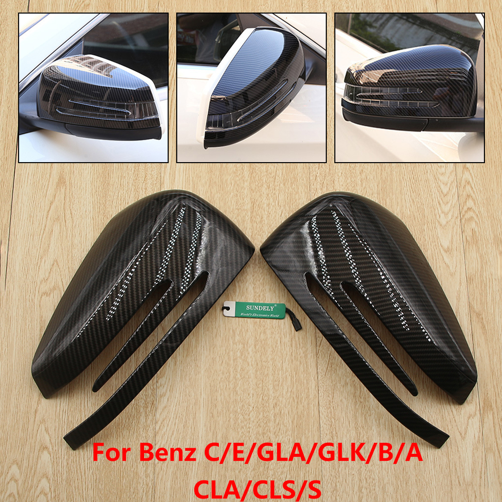 Carbon Fiber Mirror Covers B-Style
