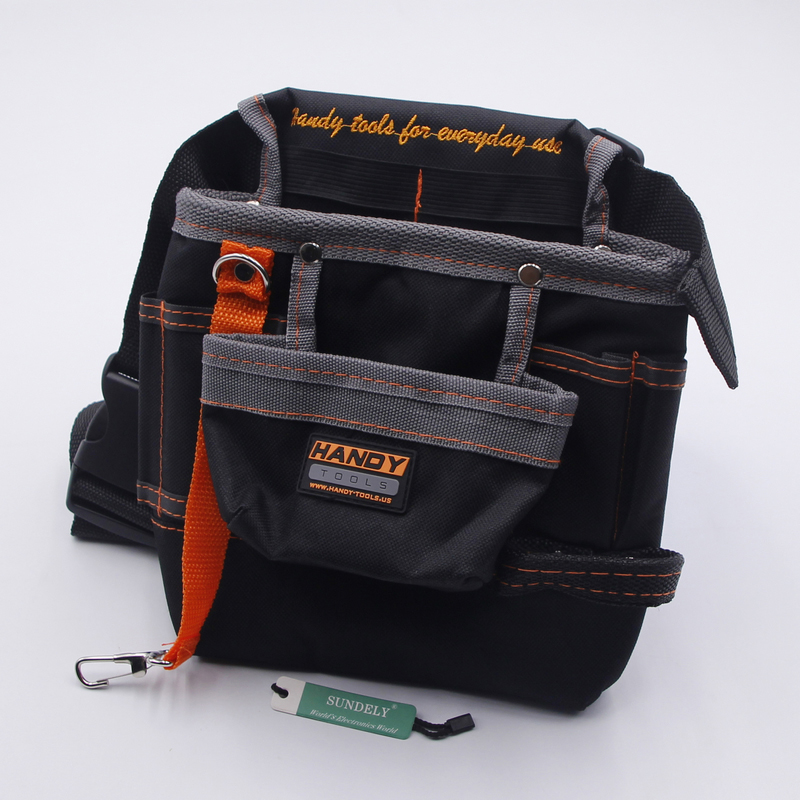 Bingolar Tool bag with belt for manual Electrician Tool Pouch with Adjustable