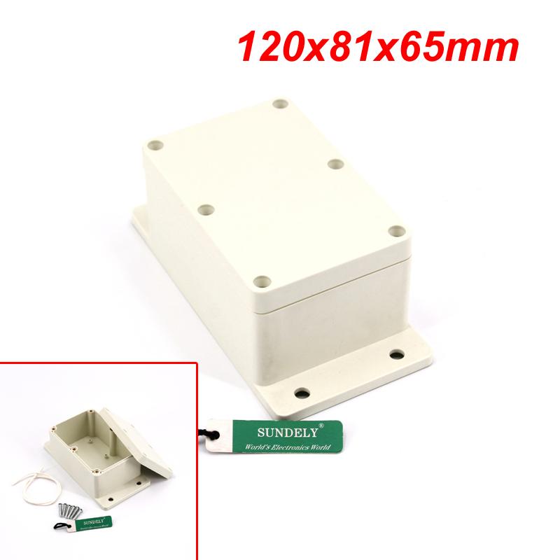 96mmx96mmx60mm Plastic Dustproof IP65 Junction Box Electric Project Enclosure
