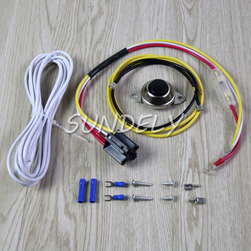 Details about Universal Car Horn Installation Wire Kit w/ on Relay on