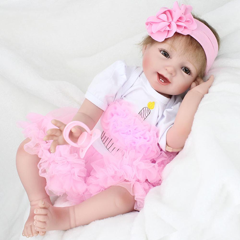 Cute Newborn Reborn Handmade Lifelike Baby Girl Doll ...