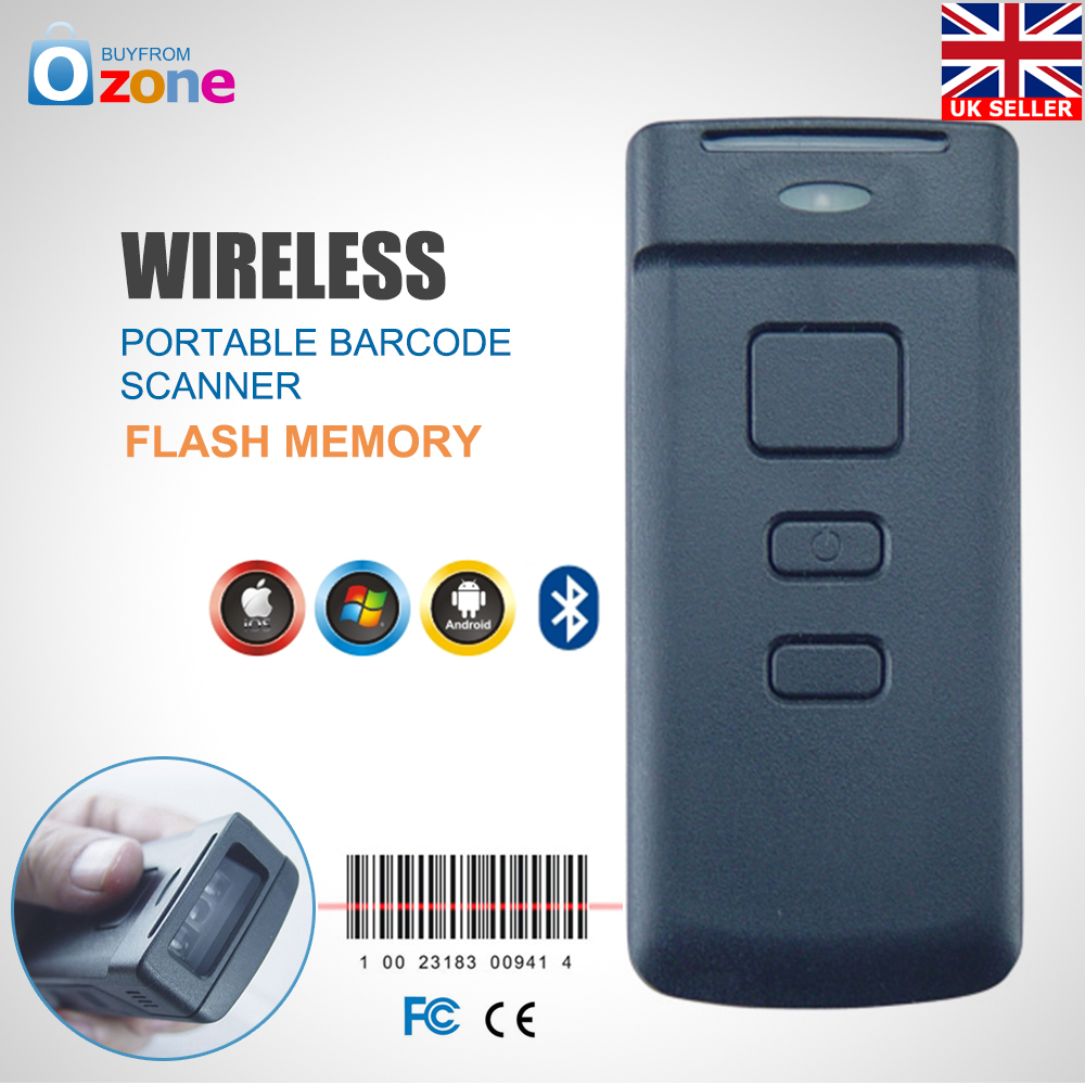 Wireless Bluetooth Barcode Scanner Code Reader for Android