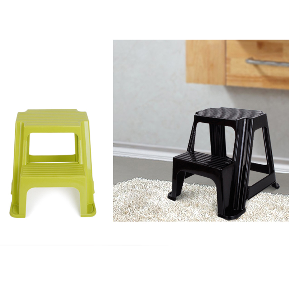 2 STEP NEW KITCHEN BATHROOM CARAVAN PLASTIC STEP UP STOOLS LARGE HEAVY DUTY  sc 1 st  eBay & 2 STEP NEW KITCHEN BATHROOM CARAVAN PLASTIC STEP UP STOOLS LARGE ... islam-shia.org