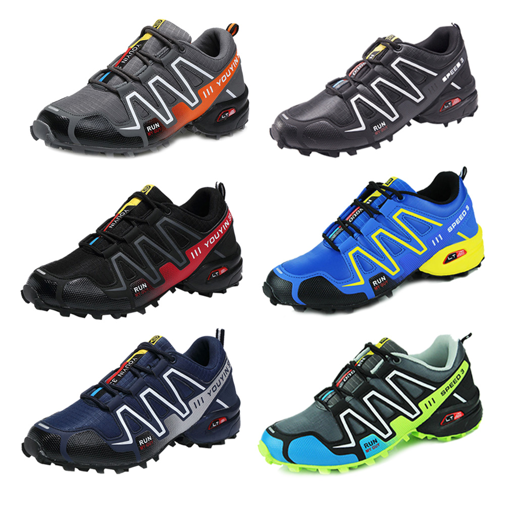 Men's Running Shoes Speed 3 Athletic Outdoor Sports Hiking Sneakers