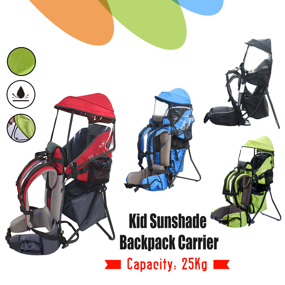 Xtelary Baby Backpack Carrier W Stand Child Kid Toddler