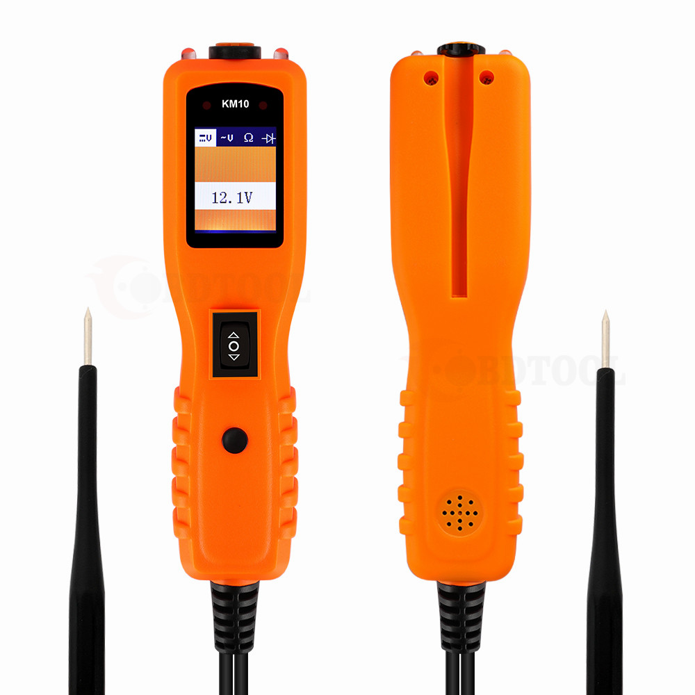 12V Power Scan Electrical Circuit Tester Car Power AVOmeter KM10 Diagnostic Tool