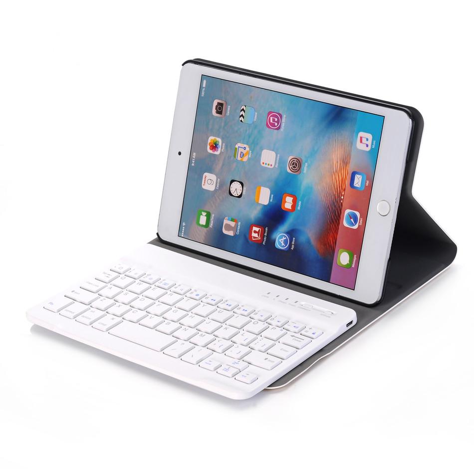"""7.9/"""" Wireless Bluetooth 3.0 per Tastiera QWERTY Apple iPad Mini 4"""