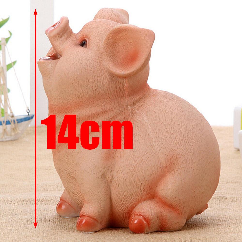 Cartoon Metal Small Box Piggy Bank Money Saving Box Coin Storage Case Kids Gift