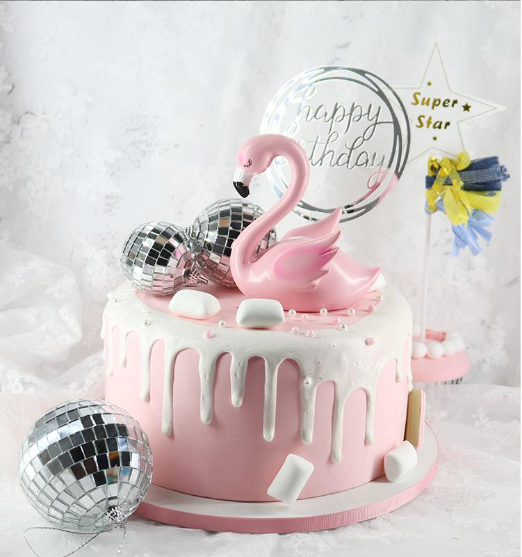 Fantastic 10X Disco Ball Birthday Cake Decor Mirror Ball Bauble Party Funny Birthday Cards Online Hendilapandamsfinfo