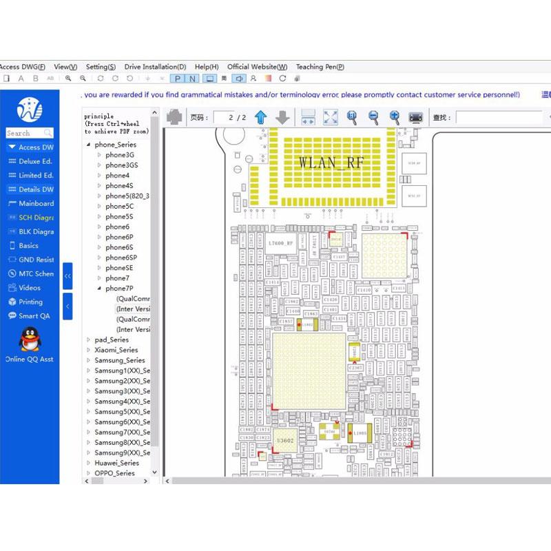 WUXINJI USB Dongle Board Schematic Diagram Repair for iphone ...