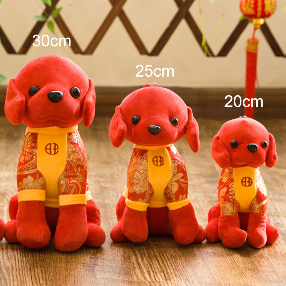 Toys For Chinese New Year : Dog tang costume plush toy stuffed doll chinese new