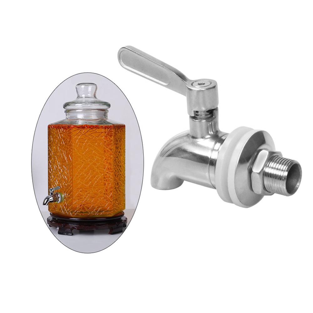 "1//2/"" Beverage Dispenser Barrel Spigot Kitchen Hot Water Faucet Tap Durable"