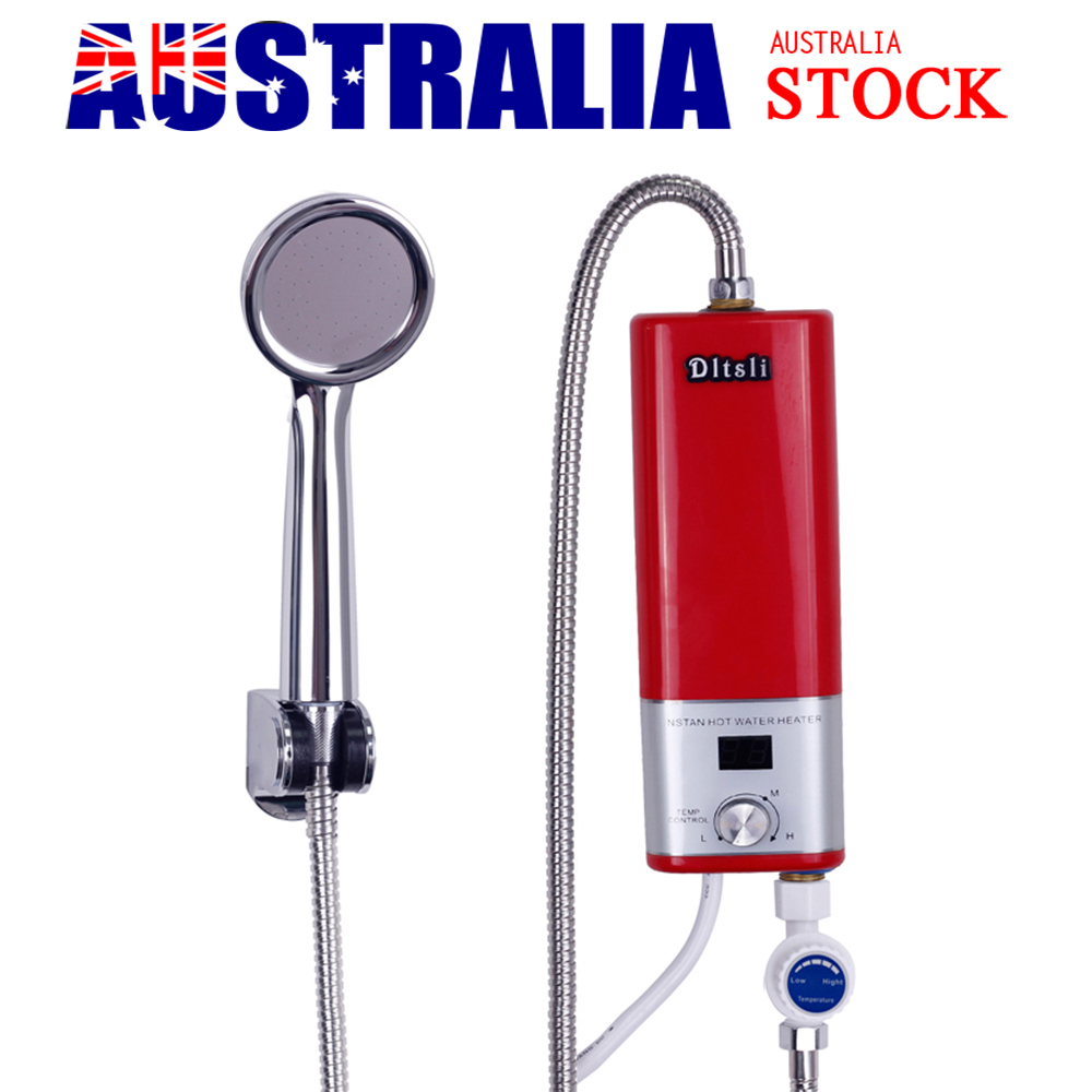 Instant Hot Water Kits : Portable electric instant hot water heater bathroom shower