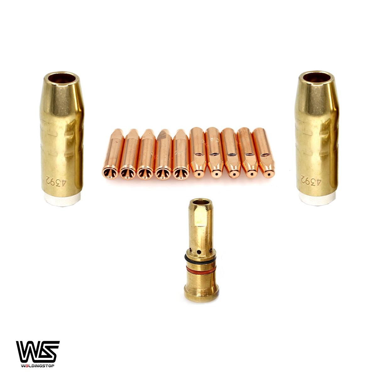 """0.045/"""" 10pcs Bernard MIG Welding Gun Torch Contact Tip 7490"""