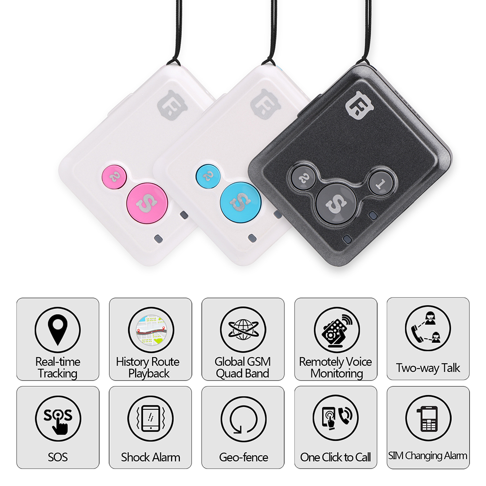 Personal GPS Quad Band Voice Monitor Real-Time Car GSM GPRS Kids Tracker Locator