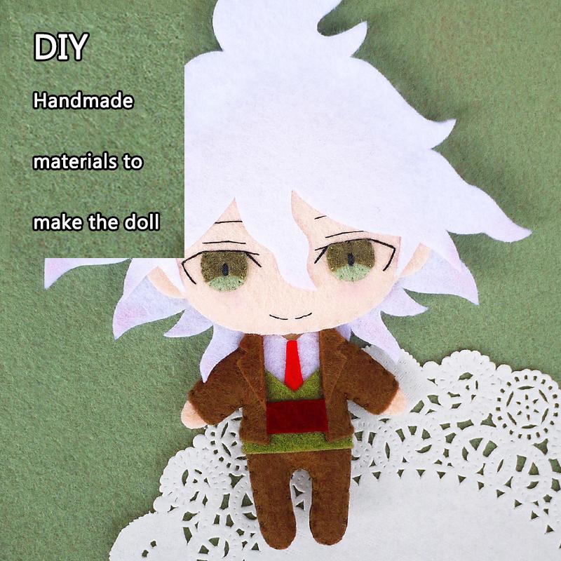 Danganronpa V3 Ouma Anime Handmade Plush Doll Toy Keychain Bag Cosplay#MT-516
