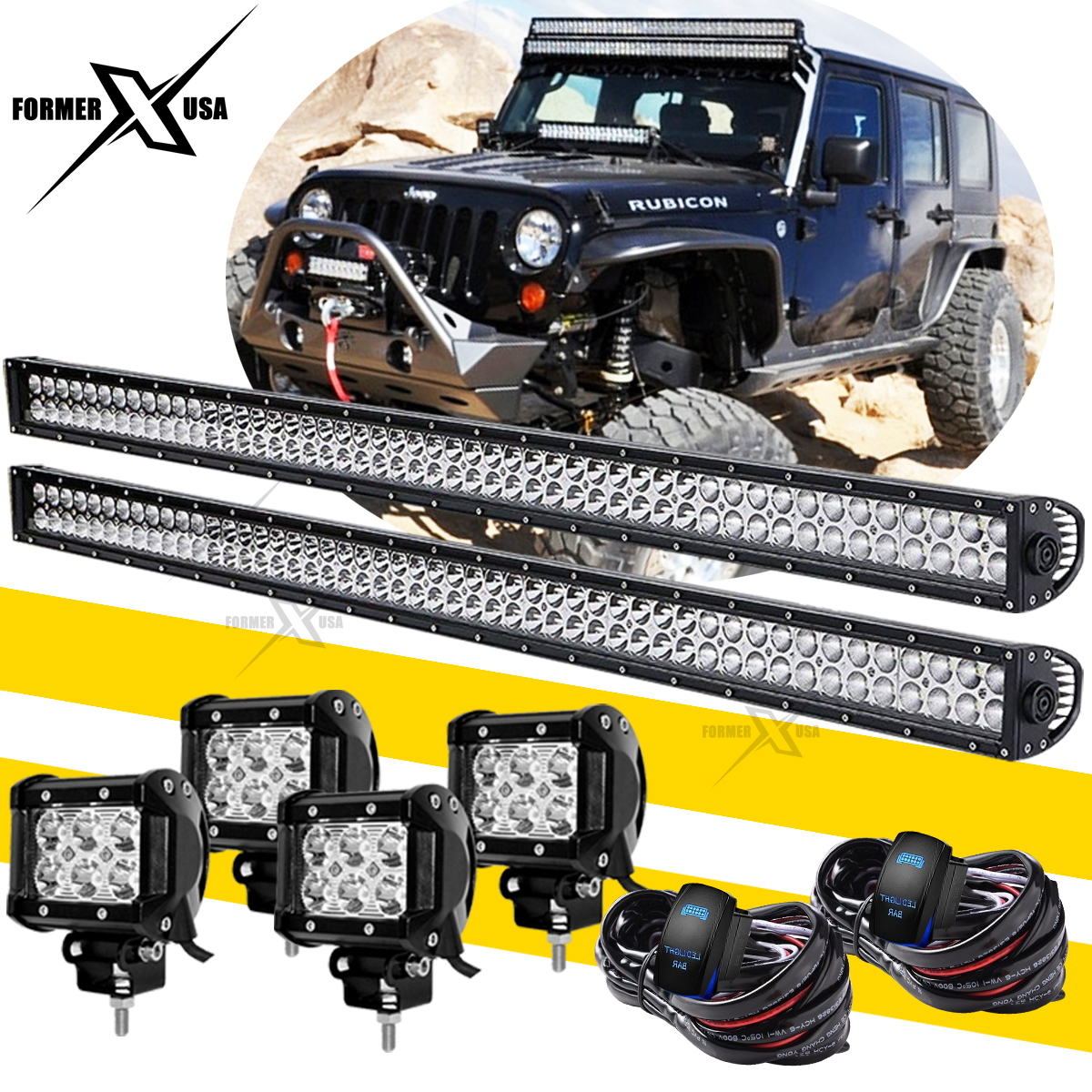 Jeep Wrangler Fog Light Wiring Harnes