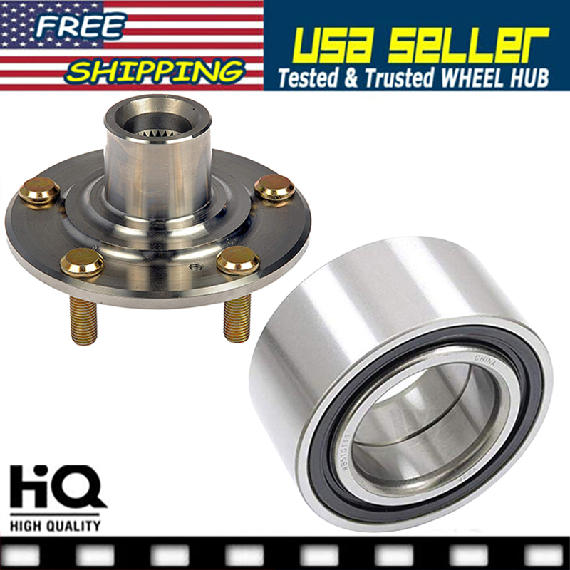 FRONT WHEEL HUB & BEARING FOR 2015 JAGUAR XK XKR 5.0L FAST