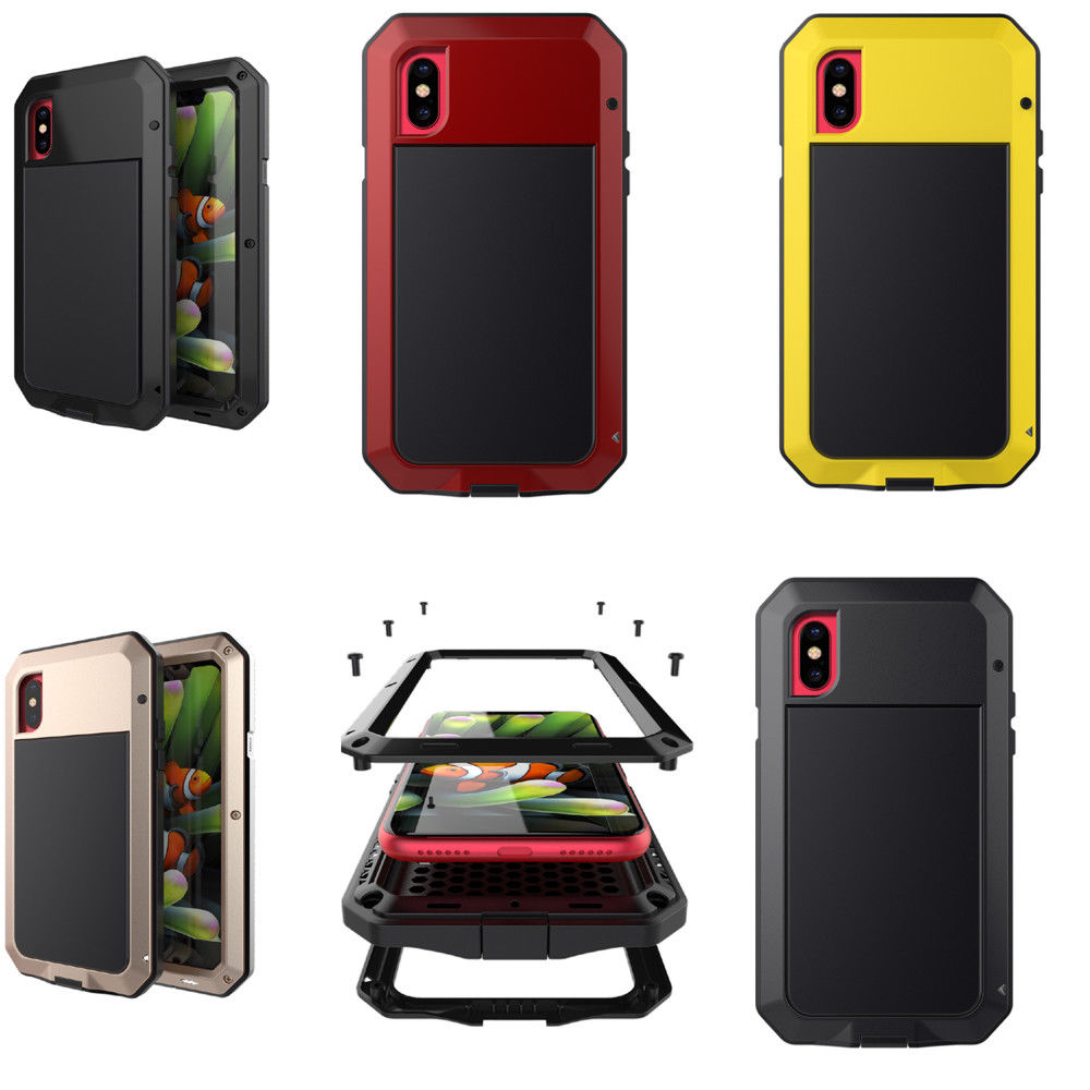 e54f4d74241 Details about Lunatik TAKTIK Case For iPhone 5/6/7/8/8 Plus/X ShockProof  Gorilla Glass Bumper
