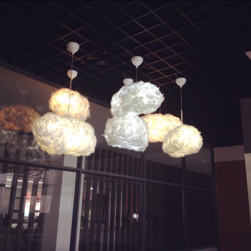 Loft Cloud Led Droplight Pendant Lamp Ceiling Light