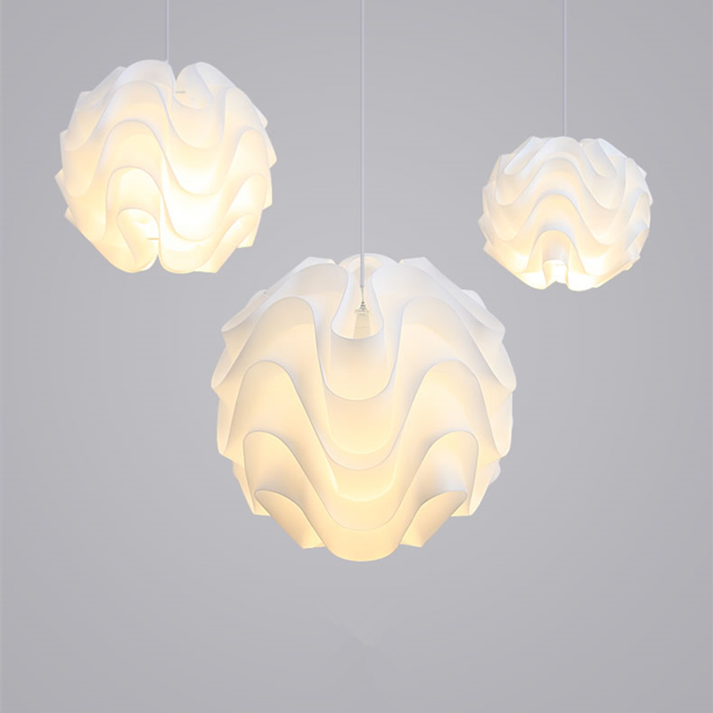 Details About Modern Le Klint Led Pendant Light White Plastic Shade Suspension Lamp Lighting