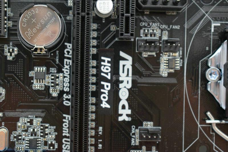 Asrock H97 Pro4 Ram Slots