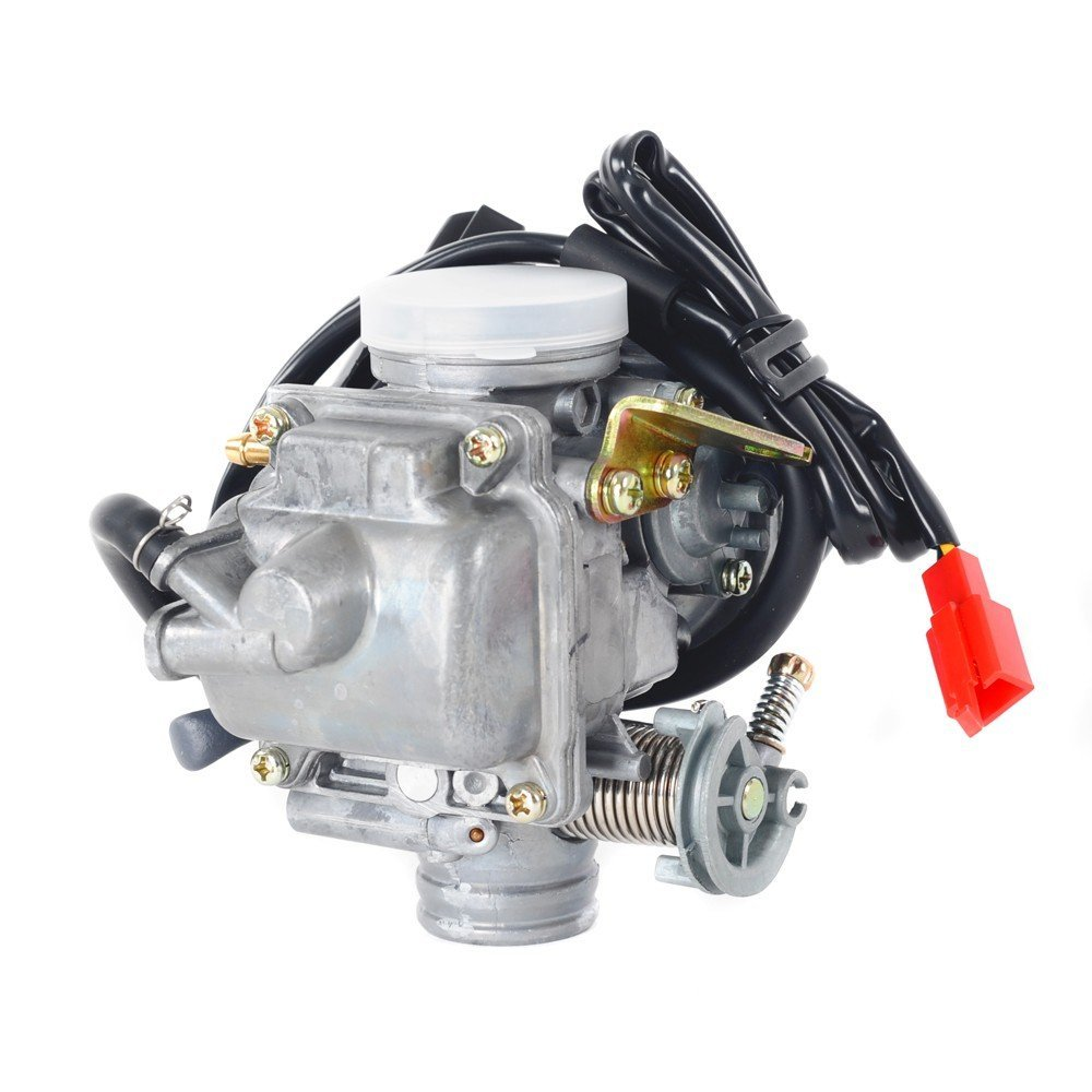 Satz 24MM Vergaser Carb 4 Hub GY6 110/125 / 150cc Scooter Moped ATV ...
