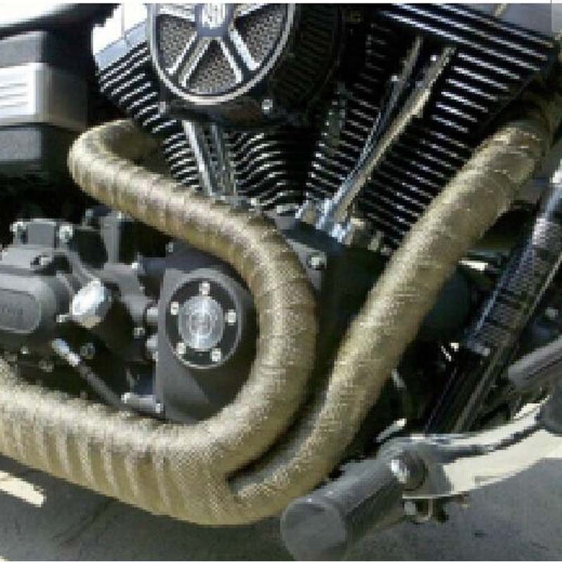 10m titan hitzeschutzband motorrad auspuff band. Black Bedroom Furniture Sets. Home Design Ideas