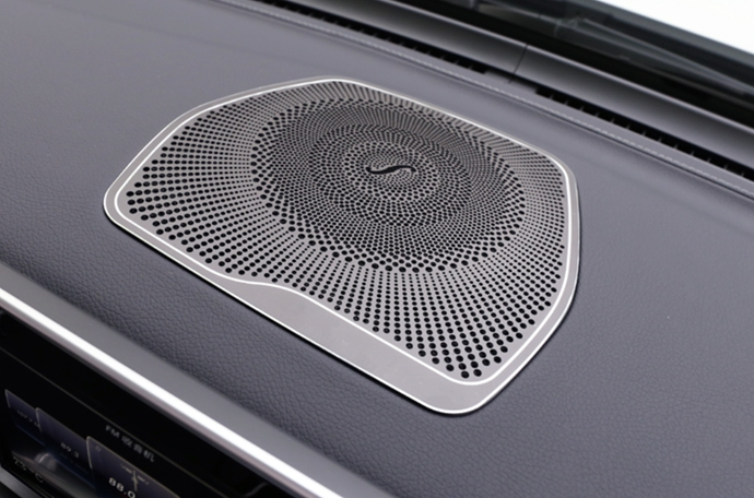 Fit For Mercedes-Benz GLC 300 15-17 Interior dashboard speaker cover decoration