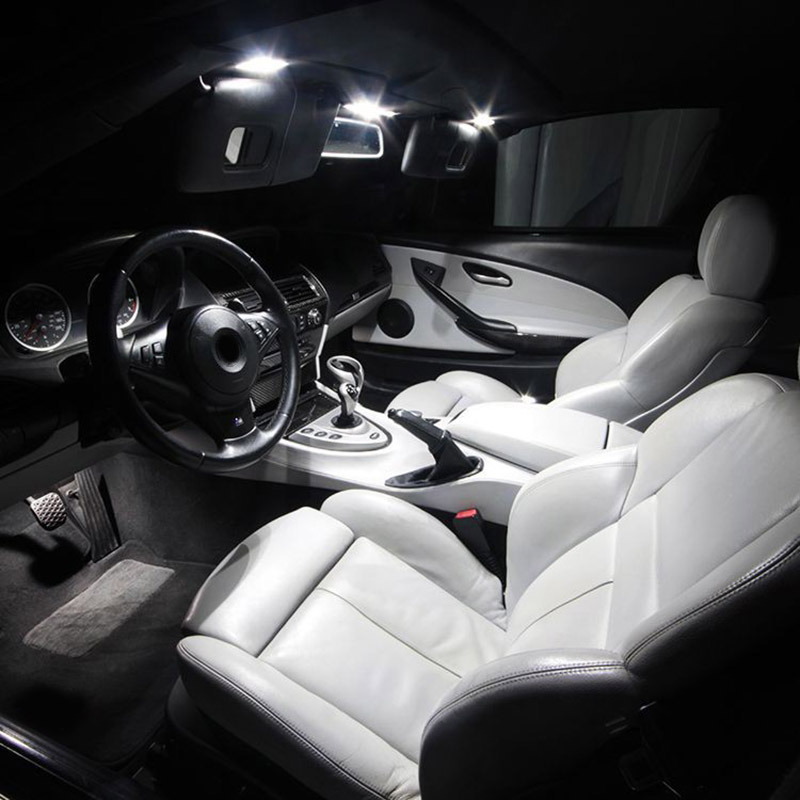 10x White Led Lamp Interior Package Kit For 2007 2012 Nissan Altima