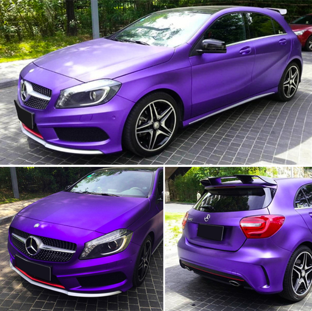 Details about ice purple new auto car body pvc vinyl wrap sticker decal film sheet vehicle diy