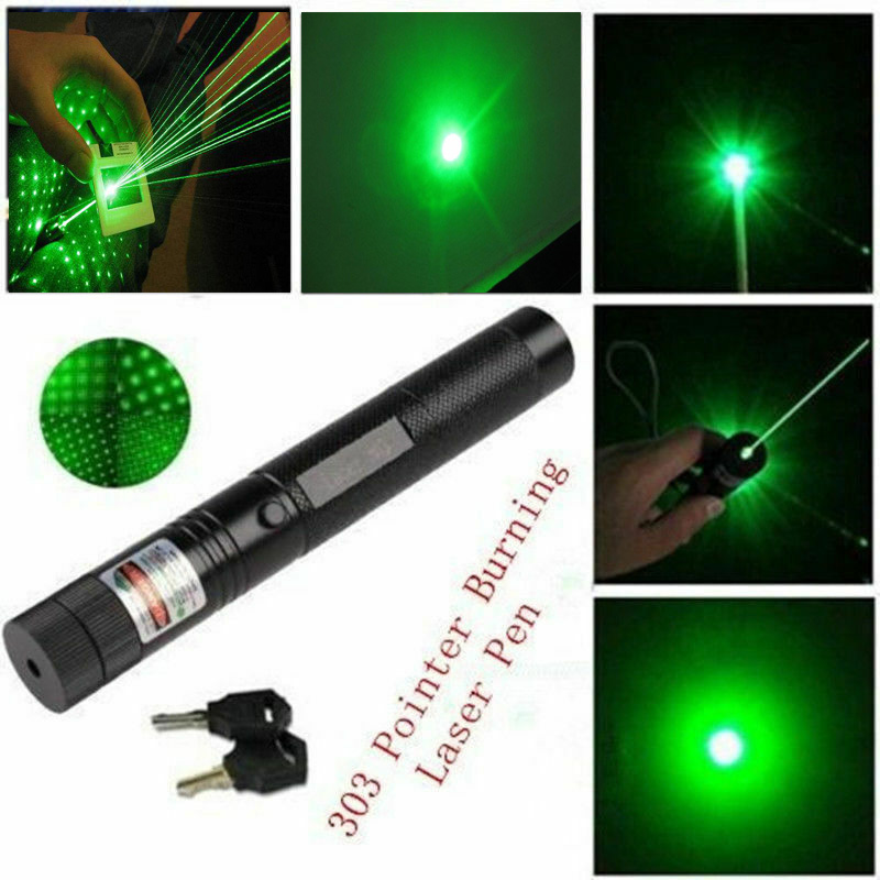 2019 Militärgrün Präsentationsbedarf Laserpointer Visible Beam Grün Lazer Light