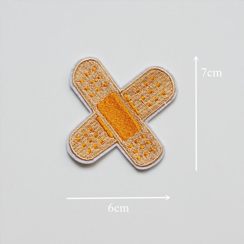 Stickerei Bandage Band-hilfe Nähen Eisen Auf Flecken Abzeichen ...